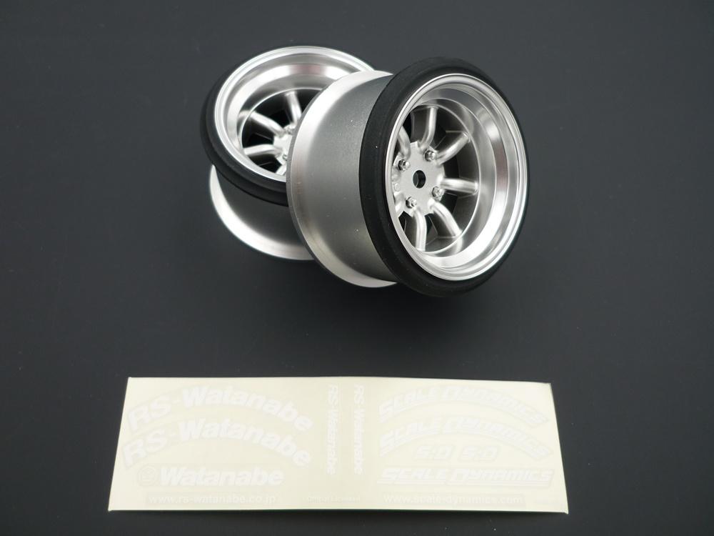 V16D RS Watanabe offset 9mm silber (2Stk)