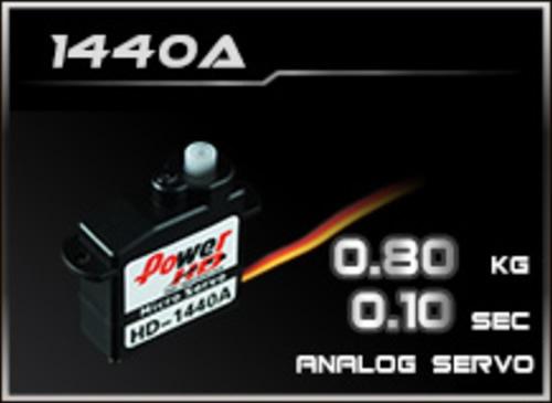 Power-HD Analog Servo 1440A