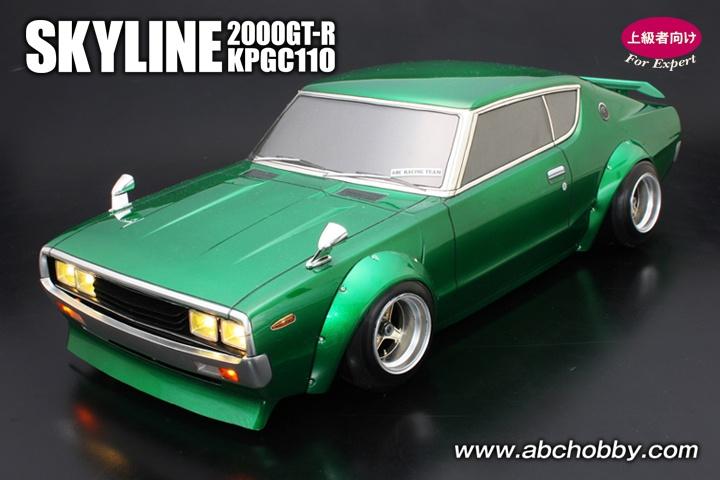 ABC-Hobby Nissan Skyline 2000 GT-R ( KPGC1Coupe GT110)