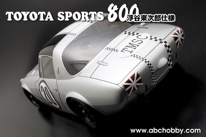 ABC-Hobby TOYOTA SPORT 800 Racing version Body Set 1:10 MIni