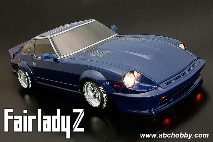Nissan Fairlady Z >> Abc Hobby Nissan Fairlady Z S130 Street Racer Custom 1 10 Body Set With Over Fender 200mm