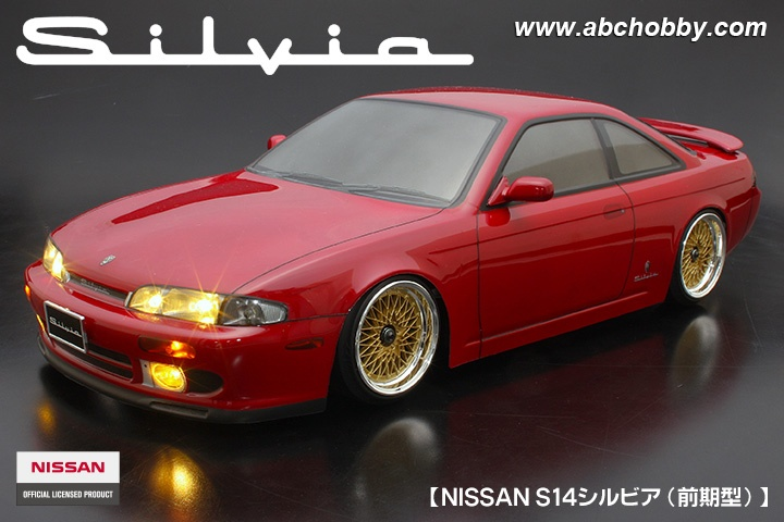 ABC-Hobby NISSAN S14 Silvia Body Set 1:10