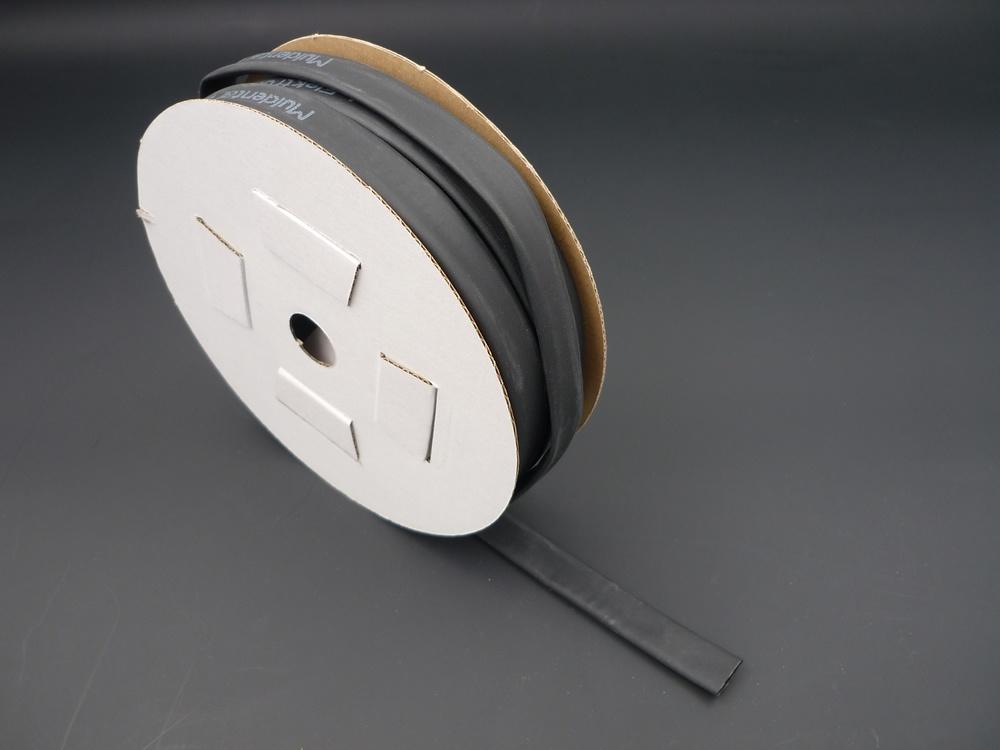 Heat shrinkable tube 9,5mm black (2:1)