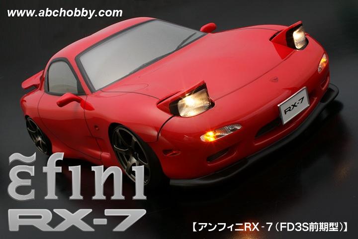 ABC-Hobby MAZDA RX-7 (FD3S) (Efini) (Early) Body Set 1:10