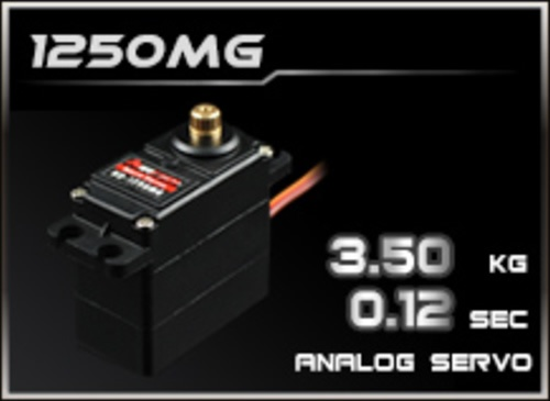 Power-HD Analog Servo 1250MG