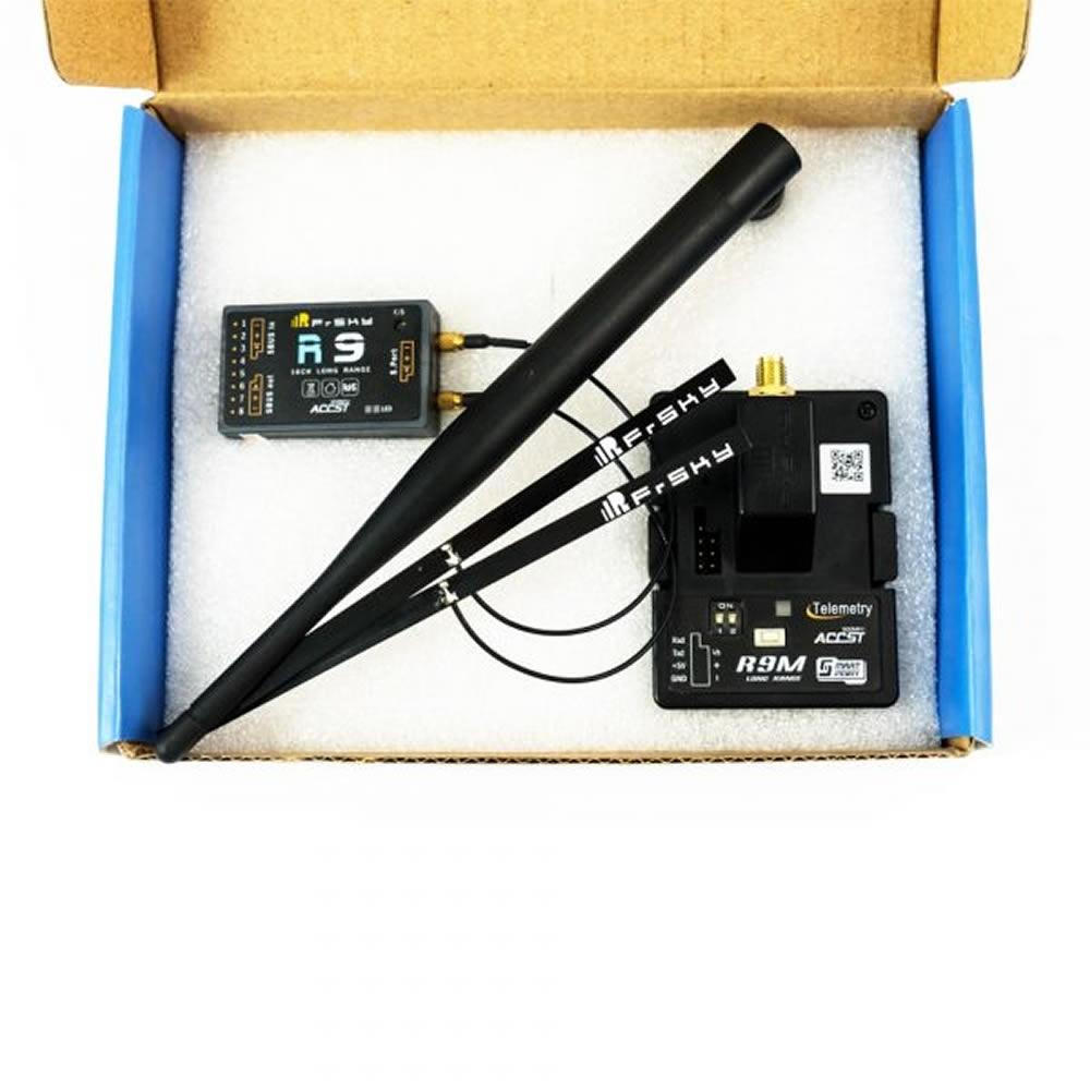 868 MHz Kombo FrSky HF-Modul R9M + R9 / LBT