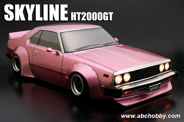 ABC-HOBBY Nissan cieloline c210 con RACING Fender 1 10  (200mm) (66167)  moda classica
