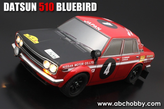 ABC-Hobby Datsun 510 Bluebird Body Set 1:10 MINI