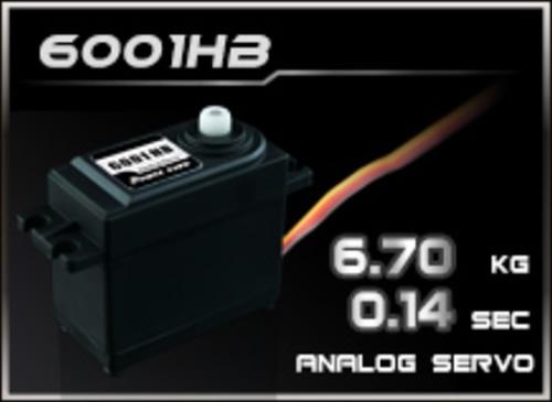 Power-HD Analog Servo 6001HB