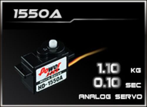 Power-HD Analog Servo 1550A