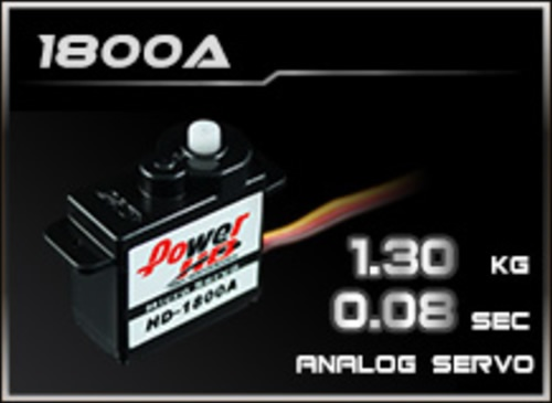 Power-HD Analog Servo 1800A