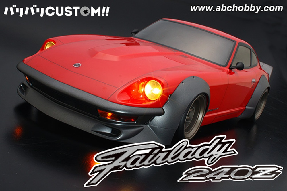 ABC-Hobby Nissan Fairlady 240ZG with Works Fender