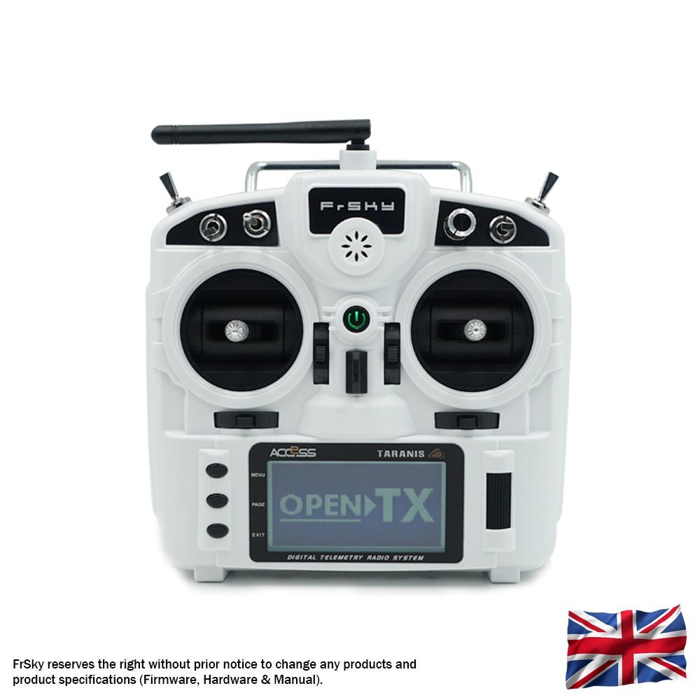 TARANIS X9 Lite EU/LBT FrSky transmitter white