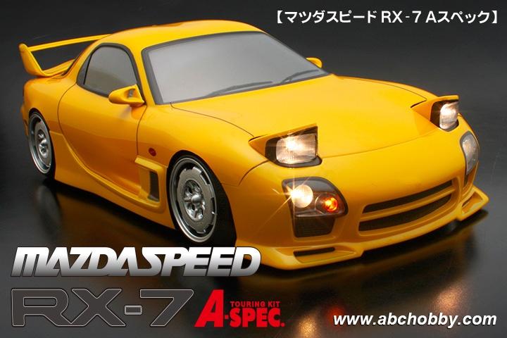 ABC-Hobby MAZDA SPEED RX-7 A Spec Body Set 1:10