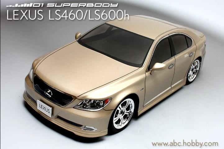 ABC-Hobby LEXUS S460 Body Set 1:10