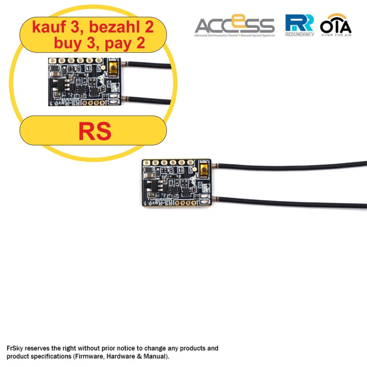 Receiver Archer RS 2,4 Ghz (3 pcs) (3for2)
