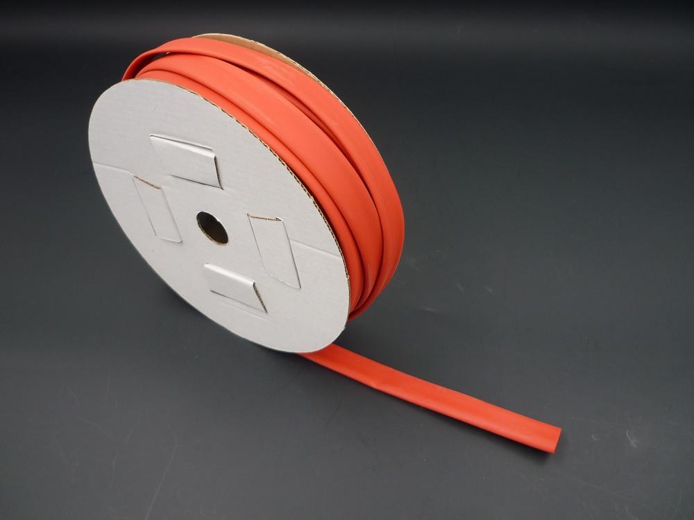 Heat shrinkable tube 9,5mm red (2:1)