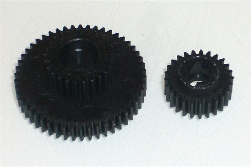 50T/25T Spur Gear (w/ Counter Gear 25T)