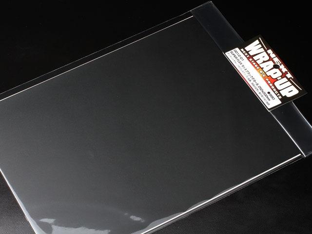 Super Flex schwarz-matt Dekor 250x200mm