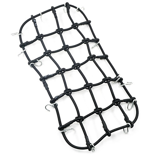 Gebäcknetz für Dachgepäckträger 200 x 110mm 1:10 schwarz