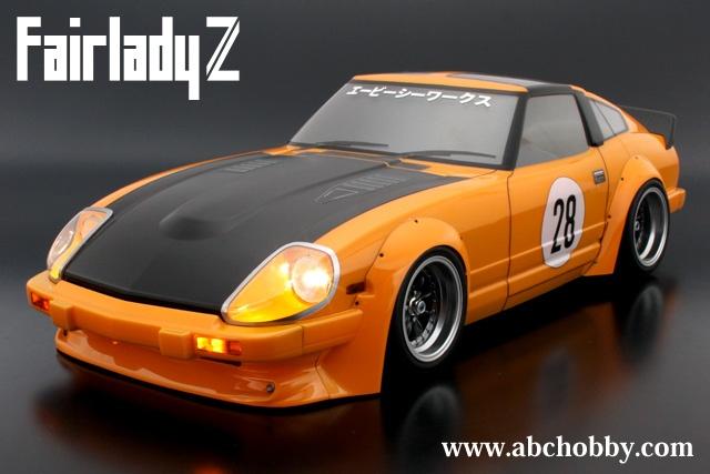 ABC-Hobby Nissan Fairlady 280Z (S130) Body Set 1:10