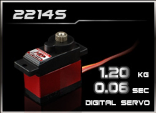 Power-HD Digital Servo 2214S