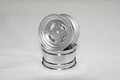 Surging 4-Spoke Type II Rims 1:10MINI silver