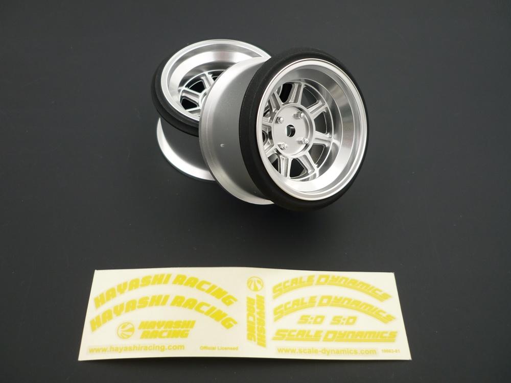 V16D Hayashi Street offset 9mm silber (2Stk)