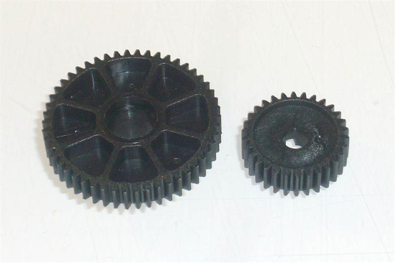50T/30T Spur Gear (w/ 20T Counter Gear)