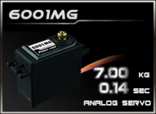 Power-HD Analog Servo 6001MG