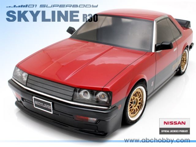 ABC-Hobby NISSAN SKYLINE R30 Body Set 1:10