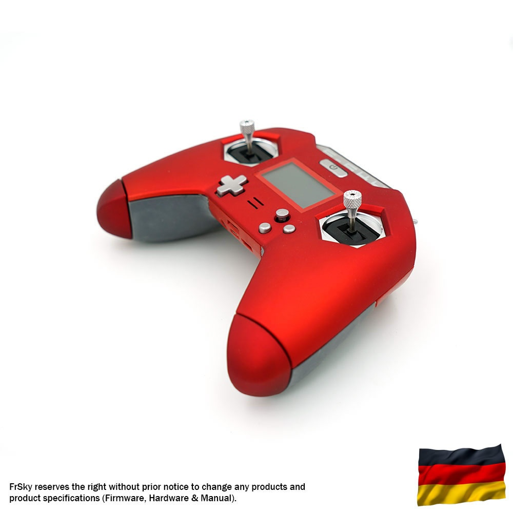 Taranis X-LITE 2,4 GHz FrSky, red, german language