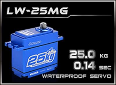 HD-Power Digital Servo LW-25MG wasserdicht