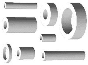 spacing sleeves PA 4,2-8-10
