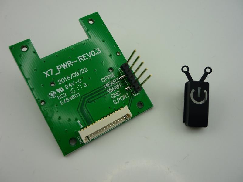 Taranis Q X7 Power Switch Board