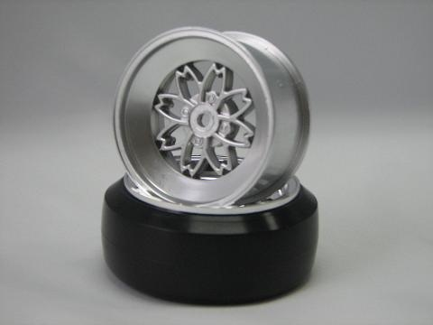 TEAM Yayoi Felgen 1:10 Offset 3mm silber