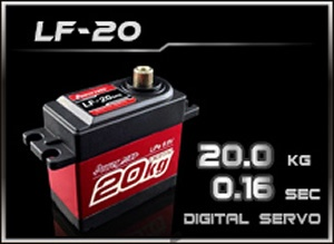 Power-HD Digital Servo LF-20MG (4,8-6,6V)