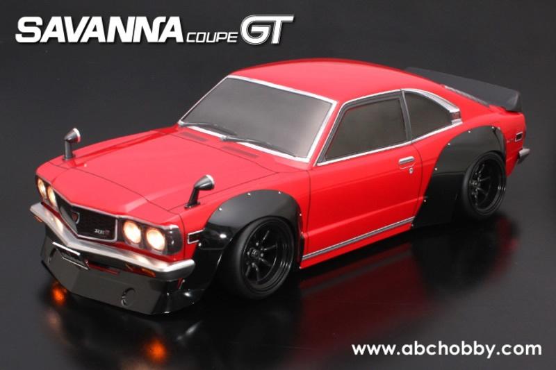 ABC-Hobby MAZDA SAVANNA Coupe GT  Body Set 1:10
