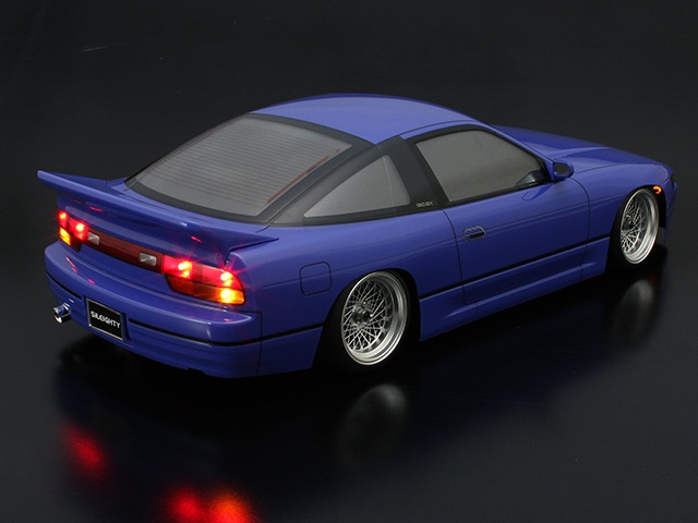 Nissan 180SX and Sileighty Rear Wing Version 2