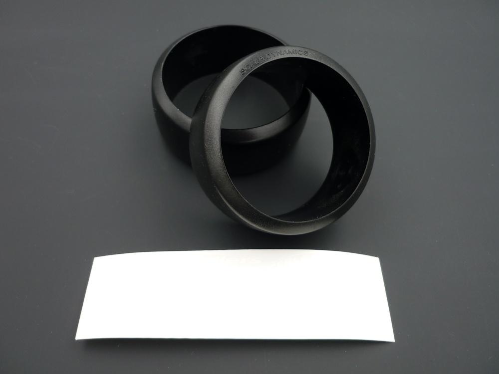 D62 Drift Reifen Set Polycarbonat A mit Aufkleber (2Stk.)