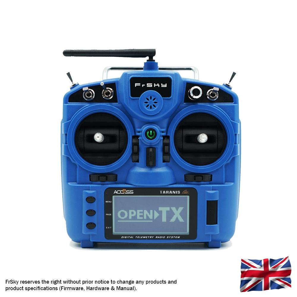 TARANIS X9 Lite EU/LBT FrSky transmitter blue
