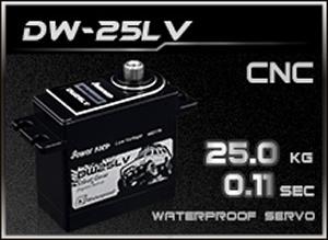 HD-Power Digital Servo DW-25LV wasserdicht
