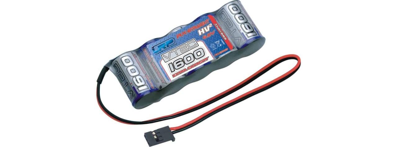 LRP HVþ VTEC 1600EC Extra Capacity RX-Pack Futaba 6.0V
