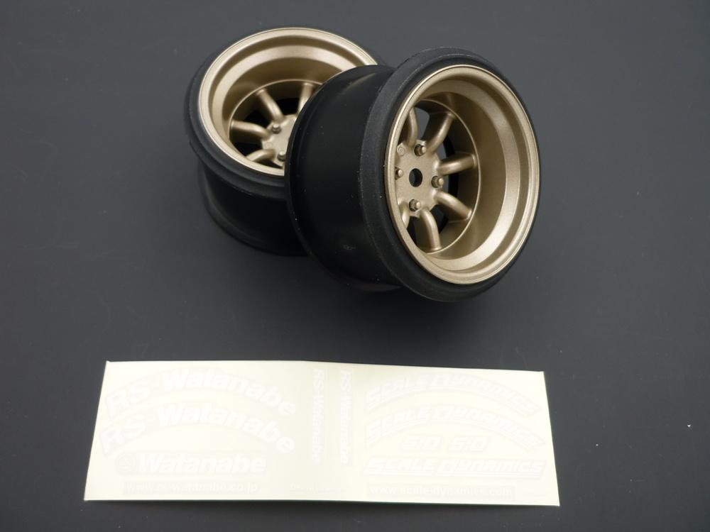 V16D RS Watanabe offset 12mm Gold (2Stk)