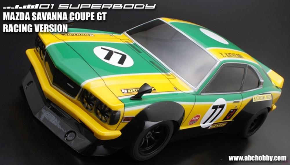 ABC-Hobby Veilside Fortune RX-7 Body Set 1:10