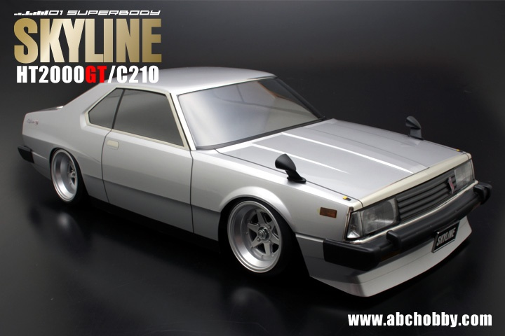 ABC-Hobby NISSAN SKYLINE C210 JAPAN Body Set 1:10