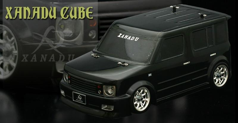 ABC-Hobby XANADO Nissan Cube Body Set 1:10 MINI