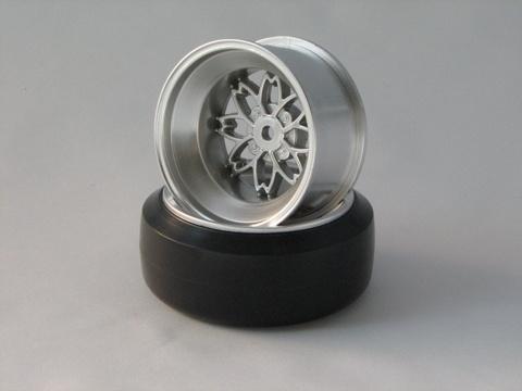 TEAM Yayoi Felgen 1:10 Offset 12mm silber
