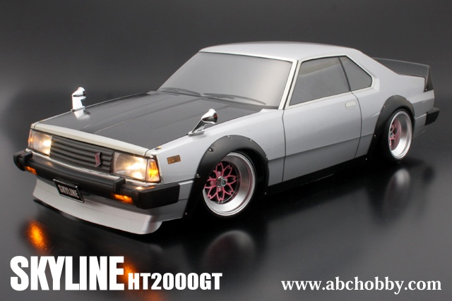 ABC-Hobby Nissan Skyline HT2000GT Body Set 1:10