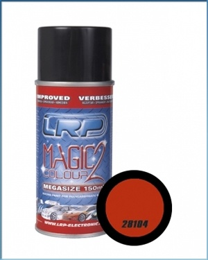 Lexanspray Magic Colour 2 Ora nge nge nge